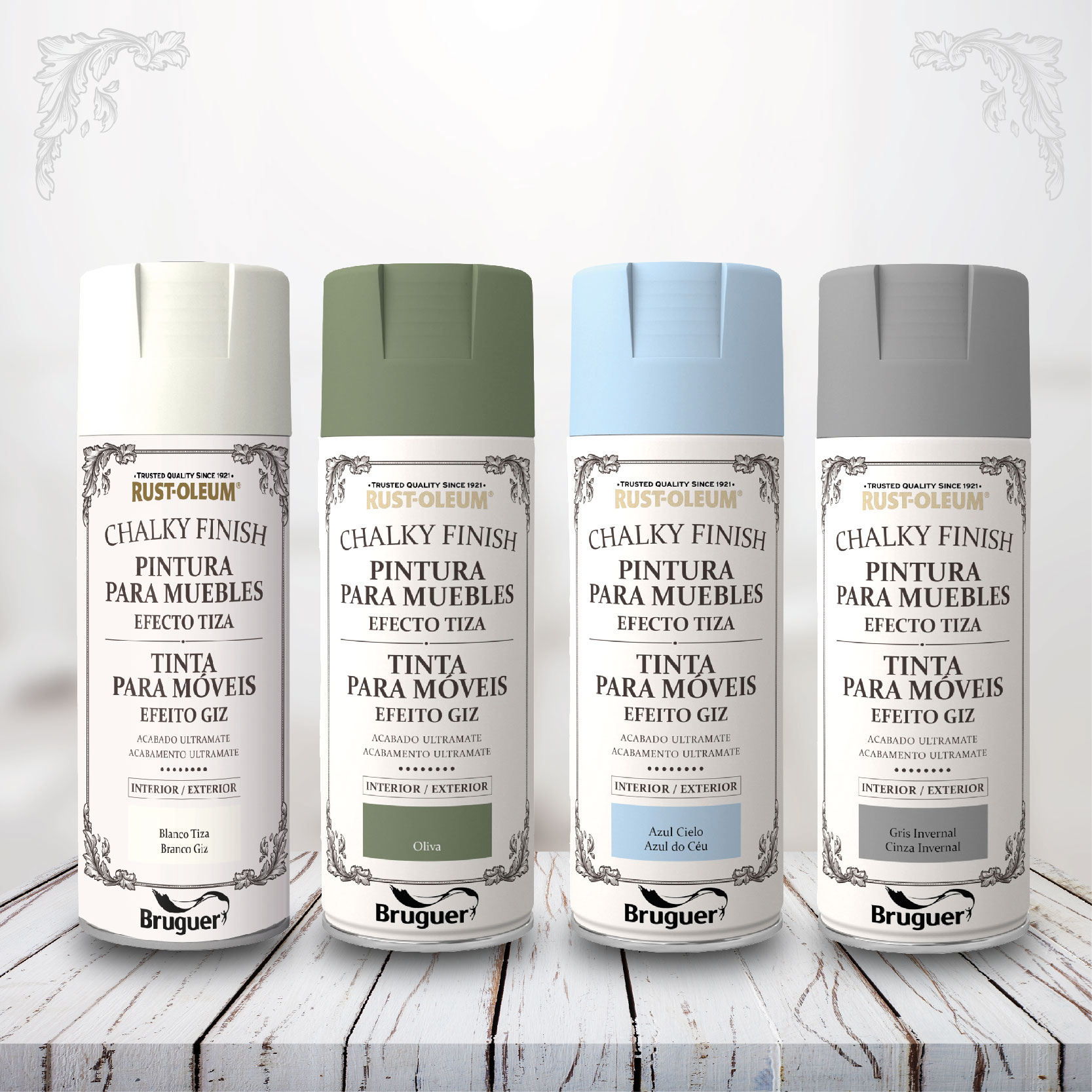 Chalky Finish spray